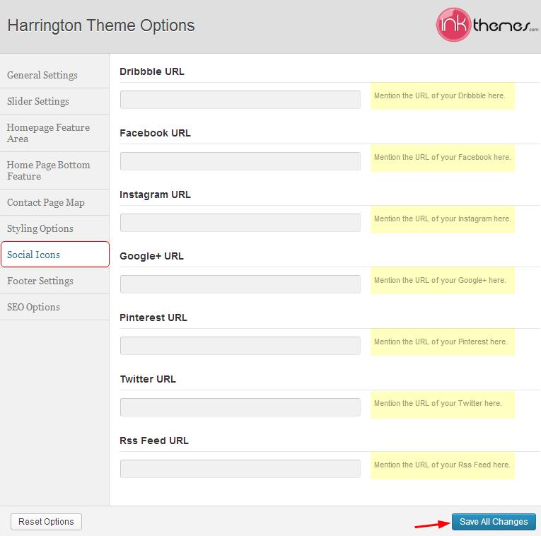 social icons custom tutorials