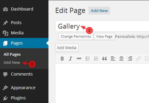 add gallery tutorial