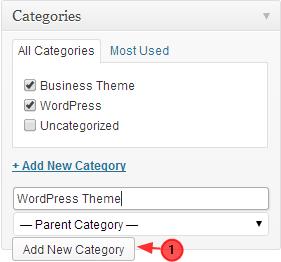 create category