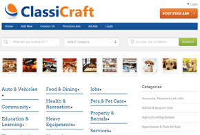 ClassiCraft Classified WordPress Theme