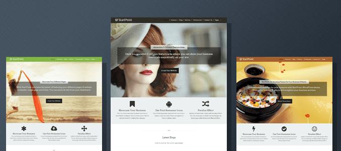 StartPoint - Single Page WordPress Theme Tutorial