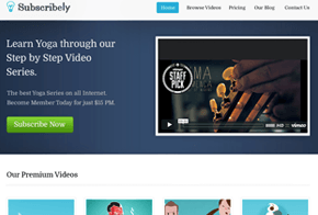 Subscribely - Sell Online Subscriptions