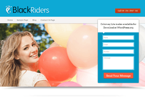 BlackRiders WordPress Theme