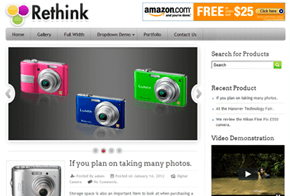 Rethink Product Review WordPress Theme