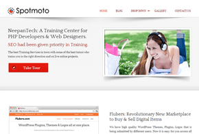 SpotMoto WordPress Theme