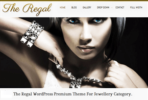Regal Responsive Wordpress Theme