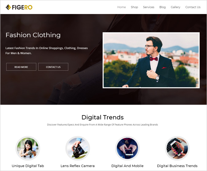 Figero-WordPress-Theme