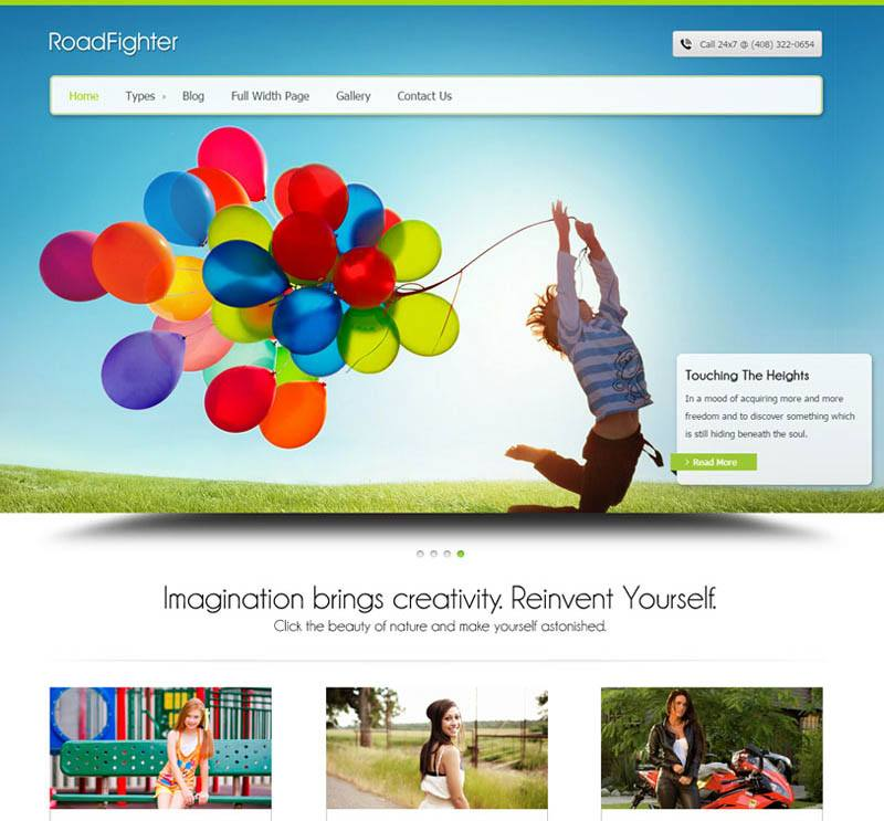 RF - beautiful wordpress theme
