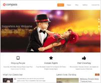 Compass - Featured Slider WordPress Theme
