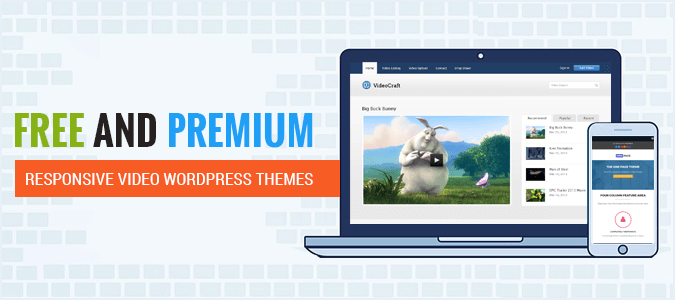 28 Free Responsive Video WordPress Themes 2018 | InkThemes