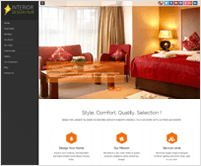 BlackWell - WordPress Theme for Interior Decoration Business Sites
