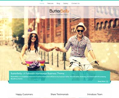 ButterBelly - Corporate Business Craft WordPress Theme