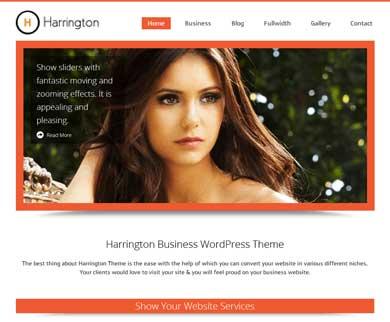 Harrington - Super WordPress Theme For Business