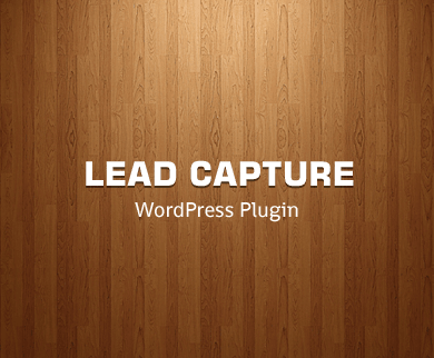 Lead Capture WordPress Plugin