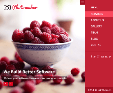 PhotoMaker - WordPress Theme Photography