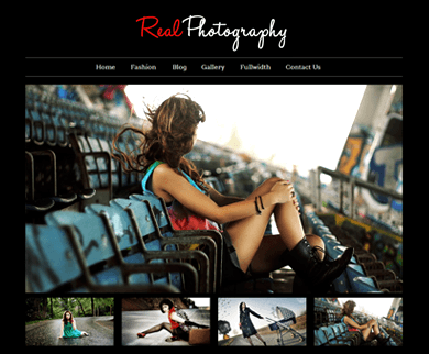 Real Photography - Photography Theme WordPress