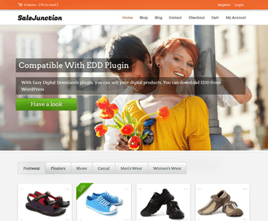 SaleJunction - Marketplace WordPress Theme