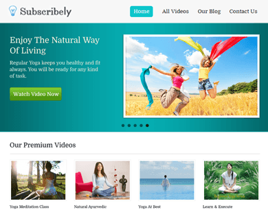 Subscribely - WordPress Membership Theme