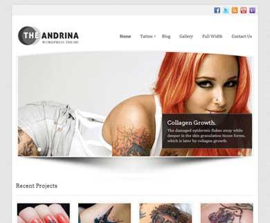 Andrina - Fashion Classic Style WordPress Theme