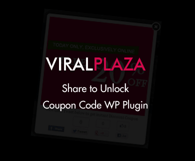 Viral Plaza - WordPress Coupon Plugin
