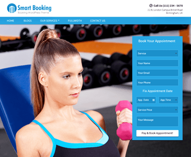 SMARTBOOKING - APPOINTMENT BOOKING WORDPRESS THEME
