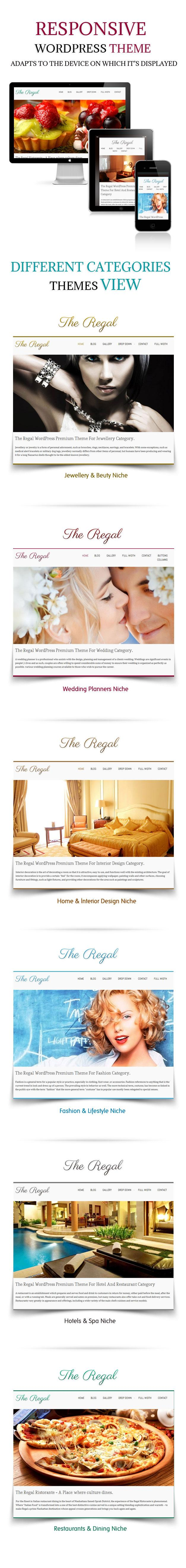 regal features sales page