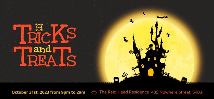 Simple Halloween Flyer Template