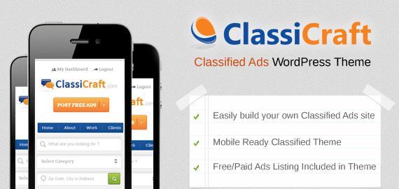 classified mobile theme