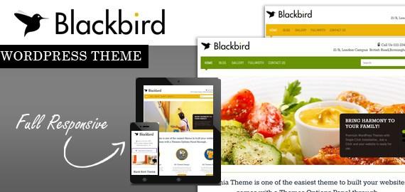 Blackbird- WordPress Unique Theme