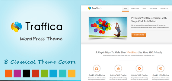 TRAFFICA - YOGA STYLE WORDPRESS THEME