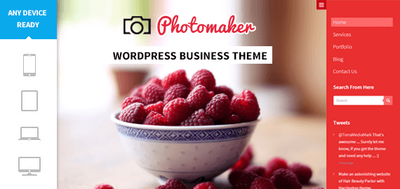 PHOTOMAKER - PHOTOGRAPHY DESIRE WORDPRESS THEME