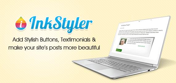 InkStyler- WordPress Button Plugin