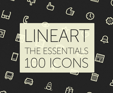 LineArt WordPress Icons - Uniquely Crafted