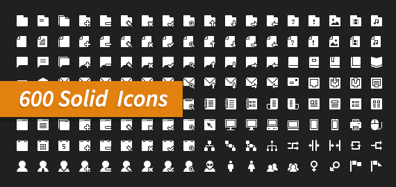 600 Modern Pictograms Icons And Symbols