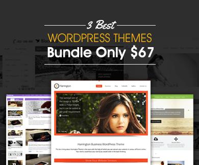 3 WordPress Themes Bundle For $67