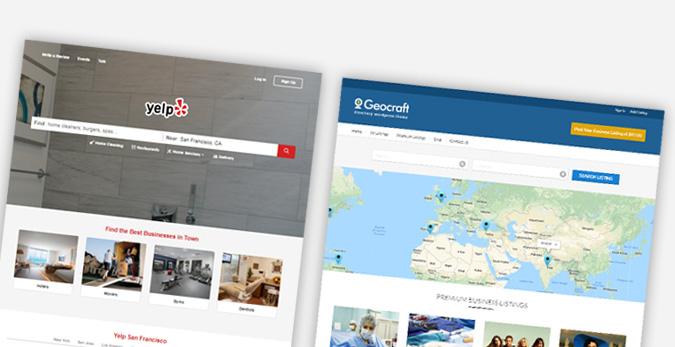 geocraft directory like yelp