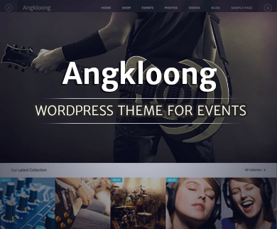 Angkloong - Music & Event WordPress Theme