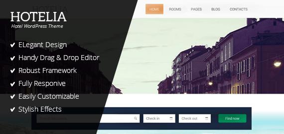 Hotelia – Hotel Booking WordPress Theme for Hoteliers