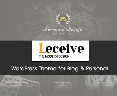 Leceive - Modern Style Business WordPress Theme