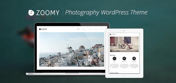 Zoomy – Photography WordPress Theme