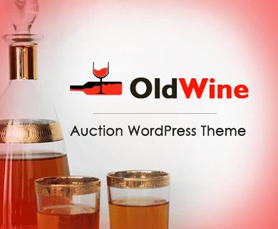 Old Wine - Auction WordPress Theme