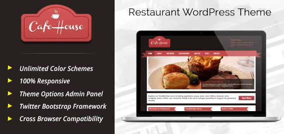 CafeHouse – Coffee Shop, Restaurant WordPress Theme