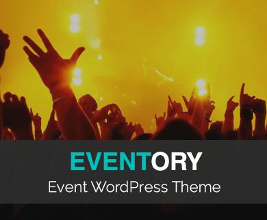 Eventory - Event WordPress Theme