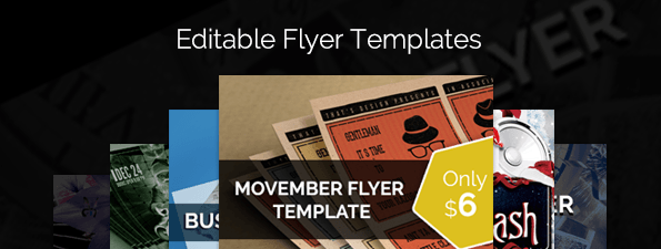 flyer templates - new year and christmas theme based