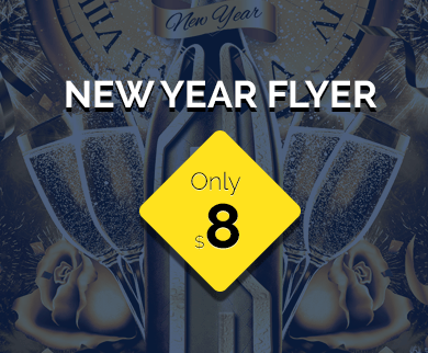 New Year Flyer Template [CurrentYear]