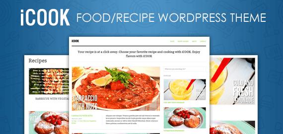 iCOOK ? FOOD/RECIPE WORDPRESS THEME