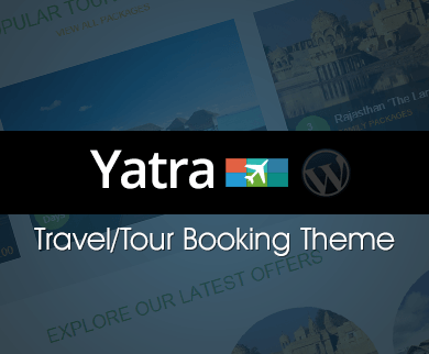Yatra - Travel And Tour Booking WordPress Theme