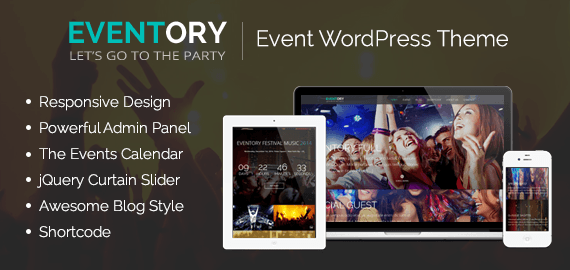 Eventory - Event WordPress Theme | InkThemes