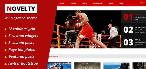 NOVELTY – Premium WordPress News Magazine Theme
