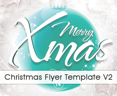 Christmas Flyer Template to Promote your Business and Events